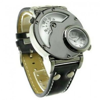 Oulm Military Men Sport Classic Bogus Phase Fashioned Wristwatch