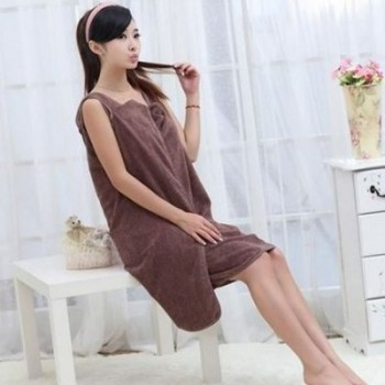 Female Bath Robe - Towel