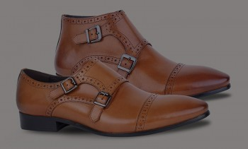 DAVID WEJ DOUBLE MONK STRAP